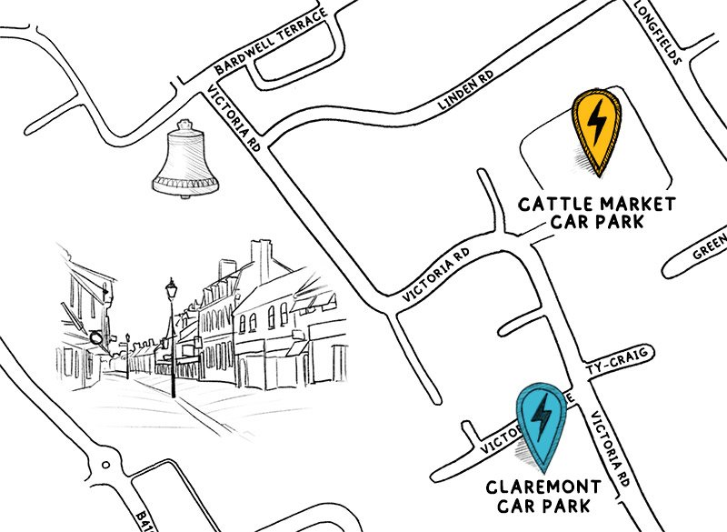 Bicester Map