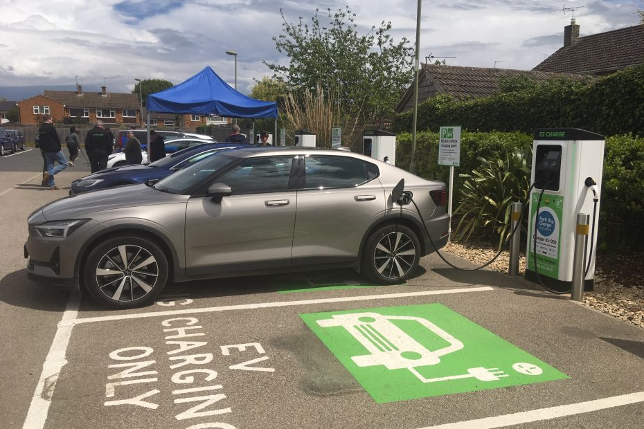 Park and Charge hub at Cattle Market car park in Bicester